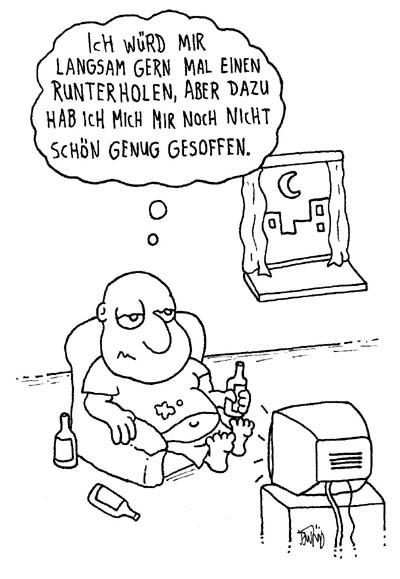 Cartoon - Schönsaufen