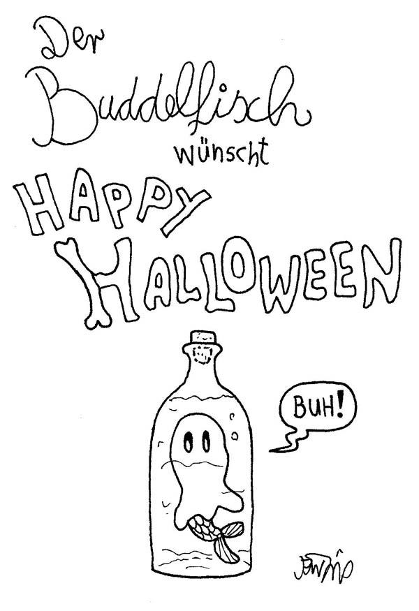 Buddelfisch - Halloween2013